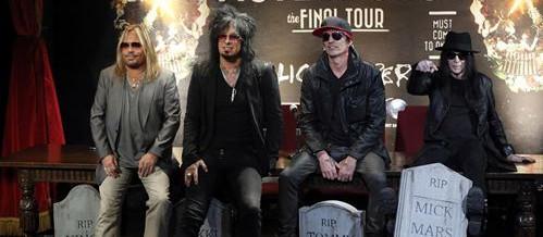 Mötley Crüe vuelve a rockear en 2020