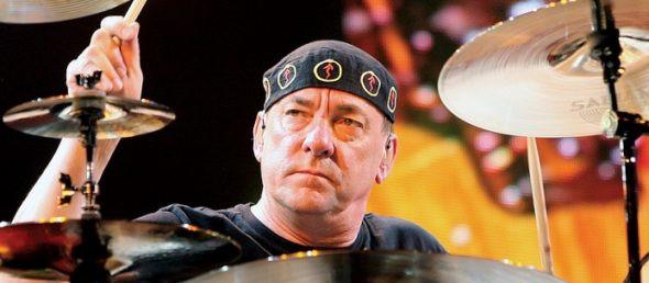 Falleció el baterista de Rush, Neil Peart