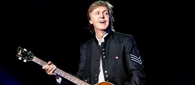 Paul McCartney llegó a Argentina y se olvidaron su piano
